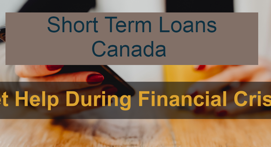 Short Term Loans Canada Fastest E-Transfer 24/7